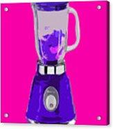 Purple Blender Acrylic Print