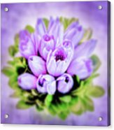 Purple Bouquet Acrylic Print