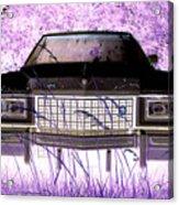 Purple Cadillac Acrylic Print