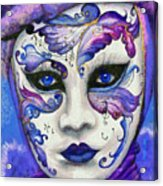 Purple Carnival Acrylic Print