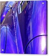 Purple Chevrolet Acrylic Print