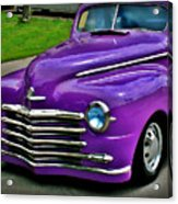Purple Cruise Acrylic Print
