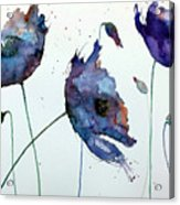 Purple Explosion Acrylic Print