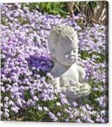 Purple Flocks  Acrylic Print
