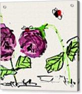Purple  Flowers Grow Acrylic Print