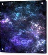 Purple Galaxy Acrylic Print