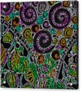 Purple Garden Acrylic Print