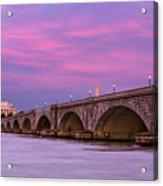 Purple Glow Acrylic Print