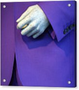 Purple Hand Purple Hand Acrylic Print