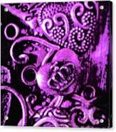 Purple Heart Collection Acrylic Print