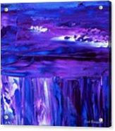Purple Hue Acrylic Print