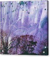 Purple Is The Color Of My True Love's Air Acrylic Print