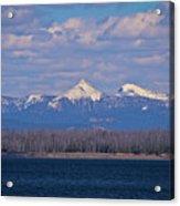 Purple Mountains Majesty Acrylic Print by Brent Parks