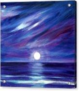 Purple Night Acrylic Print