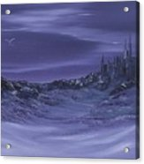 Purple Paradise Sold Acrylic Print