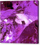 Purple Passion Abstract Acrylic Print