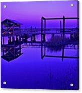 Purple Perspectives Acrylic Print