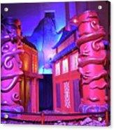 Purple Pink Fantasy Acrylic Print