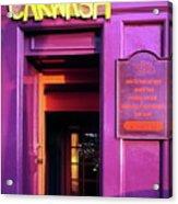 Purple Pub Acrylic Print
