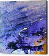 Purple Rain Acrylic Print