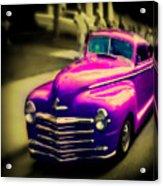Purple Ride Acrylic Print