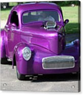 Purple Rod Acrylic Print
