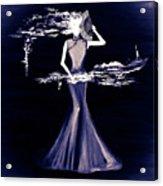 Purple Scent Acrylic Print