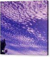 Purple Sky At Casapaz Acrylic Print