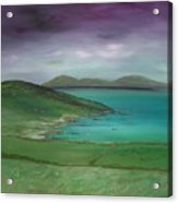 Purple Sky Over Donegal Acrylic Print