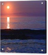 Purple Sunrise On Nauset Beach Acrylic Print