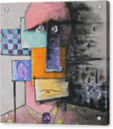 Purple Tie Acrylic Print