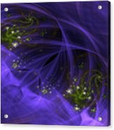 Purple Universe Acrylic Print