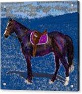 Purple Whiskey Acrylic Print