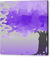 Purple Wind Acrylic Print