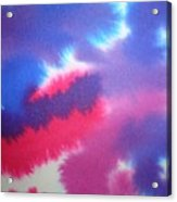 Purple Wisp Acrylic Print
