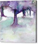 Purplescape II Acrylic Print