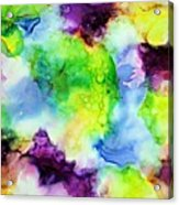 Purplexed Acrylic Print