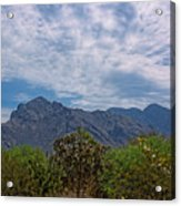 Pusch Ridge Morning H26 Acrylic Print