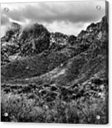 Pusch Ridge Snow No10 Acrylic Print