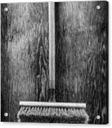 Push Broom Acrylic Print
