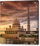 Putrajaya Beauty At Dusk Acrylic Print