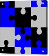 Puzzle Acrylic Print