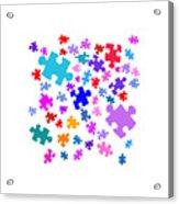 Puzzle Pieces Acrylic Print