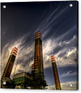 Pylons Acrylic Print