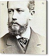 Pyotr Ilyich Tchaikovsky, Russian Acrylic Print