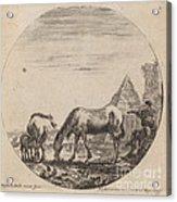 Pyramid Of Caius Cestius Acrylic Print