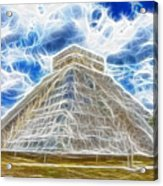 Pyramid Of The Maya  Acrylic Print