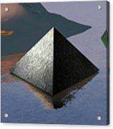 Pyramid Acrylic Print