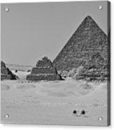 Pyramids At Giza Acrylic Print