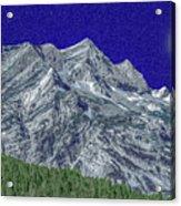 Pyrenees Astazous Mountain Acrylic Print